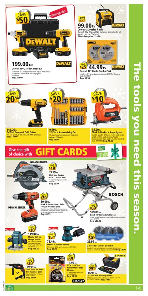 flyer design kent kent building supplies canada black friday flyer sales