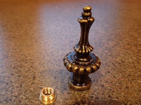 Vintage L Finials by Brass Pineapple Finial Antique Finish 28 Images