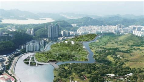 Bordir Hk aeter architects unveils utopian eco island for hong kong