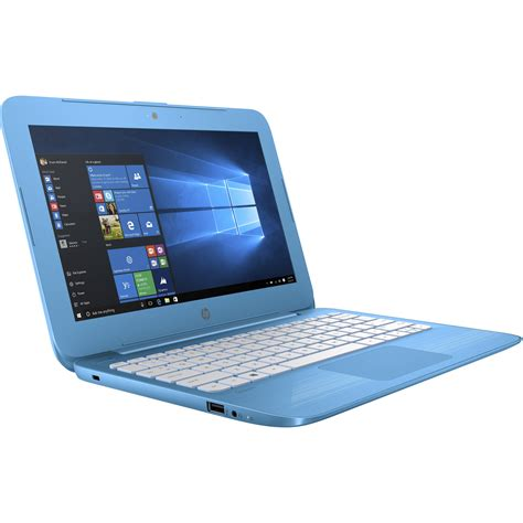 hp 11 6 quot 11 y010nr notebook aqua blue x7v29ua aba