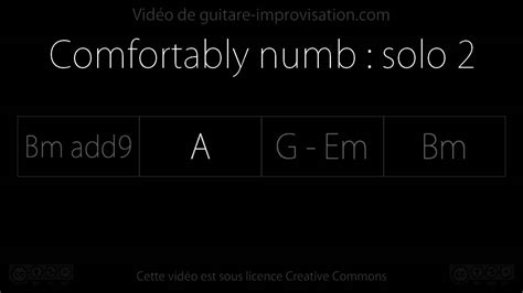 comfortably numb backing track comfortably numb backing track 2nd solo youtube