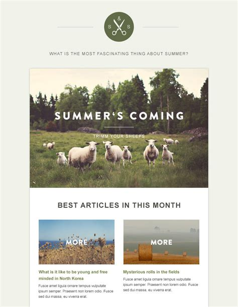 newsletter templates for blogger 20 free business newsletter templates to download hongkiat