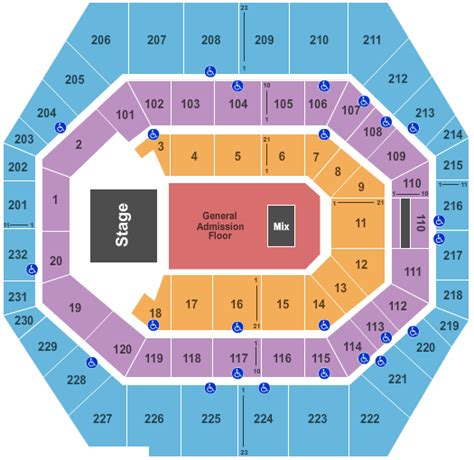 pan am center seating map concert venues in indianapolis in concertfix