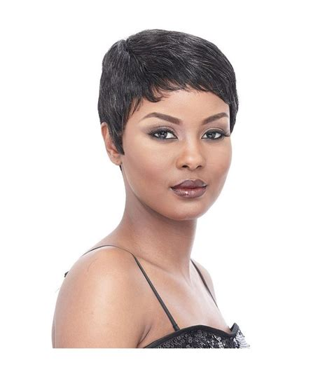 cap weave styles short wigs it s a wig cap weave human hair short sassy