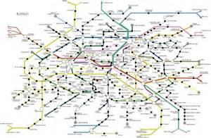 Paris Metro Map English by Metro Paris Map English
