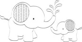 Baby Elephant Template by 6 Best Images Of Elephant Stencils Printable Baby