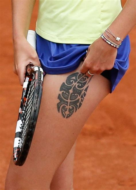 karolina pliskova of the republic displays
