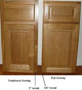 Kitchen Cabinet Overlay by Full Overlay Cabinet Doors Traditional Kitchen