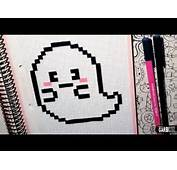 Download Video Handmade Pixel Art  How To Draw A Cute Ghost By Garbi