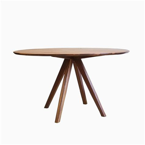 modern mid century solid quot wood dining table quot kitchen buy a hand crafted the mila mid century modern solid