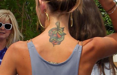 audrina patridge tattoo removal