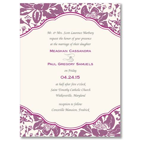 invitation card border templates 9 best images of wedding invitation border templates