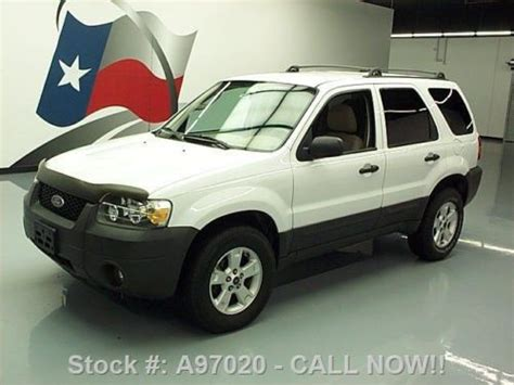 buy used 2005 ford escape xlt awd cruise roof rack