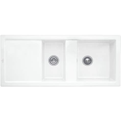 villeroy and boch sinks kitchen villeroy and boch subway 80 ceramicplus ceramic kitchen sink