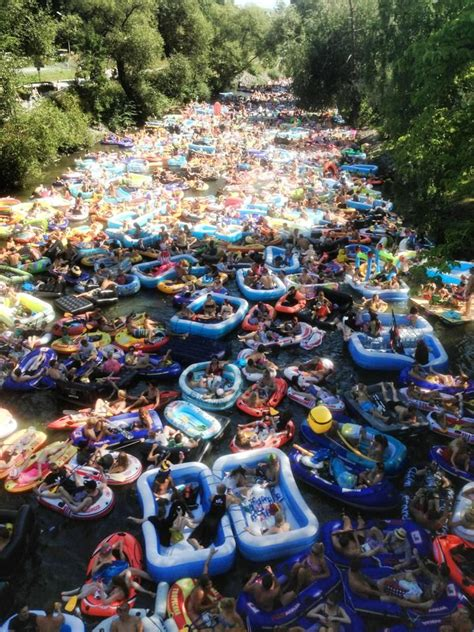 finlands beer floating festival  coming  people