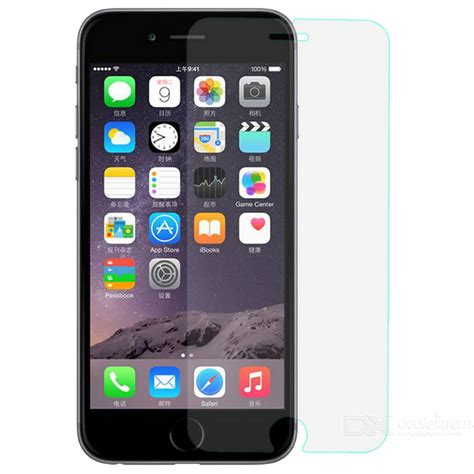 Iphone 6 6s Tyrex Slim 0 2mm Tempered Glass Screen Protector t0001 0 2mm tempered glass screen for iphone 6 6s transparent free shipping dealextreme