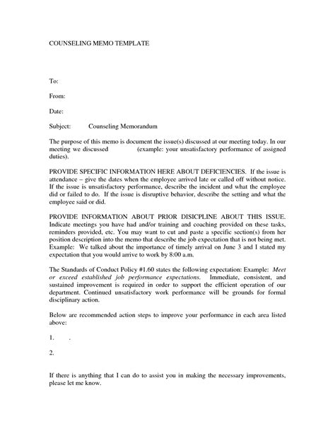letter of counseling template letter of counseling template 28 images sle cover