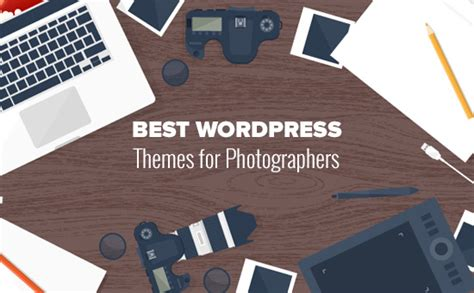 30 best wordpress themes for photographers 2017