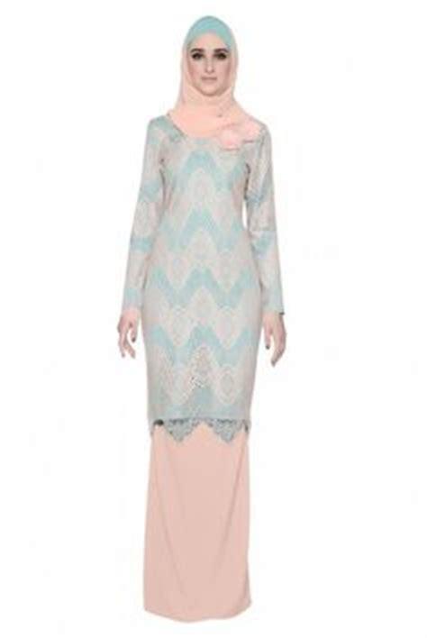 Kebaya Brukat Mermaid Terkini baju kurung moden minimalis baju raya 2016 fesyen trend terkini fesyen trend terkini