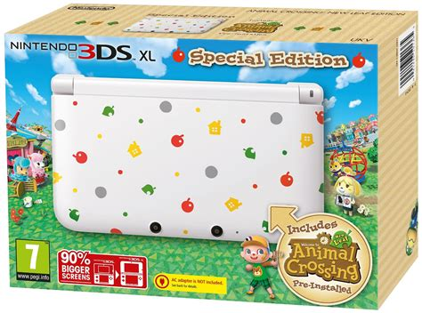 animal crossing 3ds console 3ds xl animal crossing console nintendo 3ds grainger