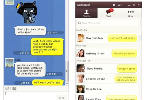 How To Find On Kakaotalk Kakaotalk Releases Pc Version To Compete W Line Viber Skype