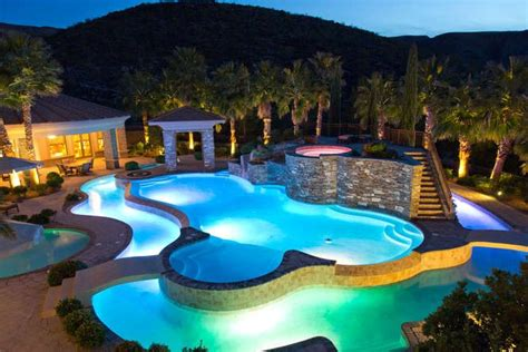 awesome pools awesome pool outdoor oasis pinterest
