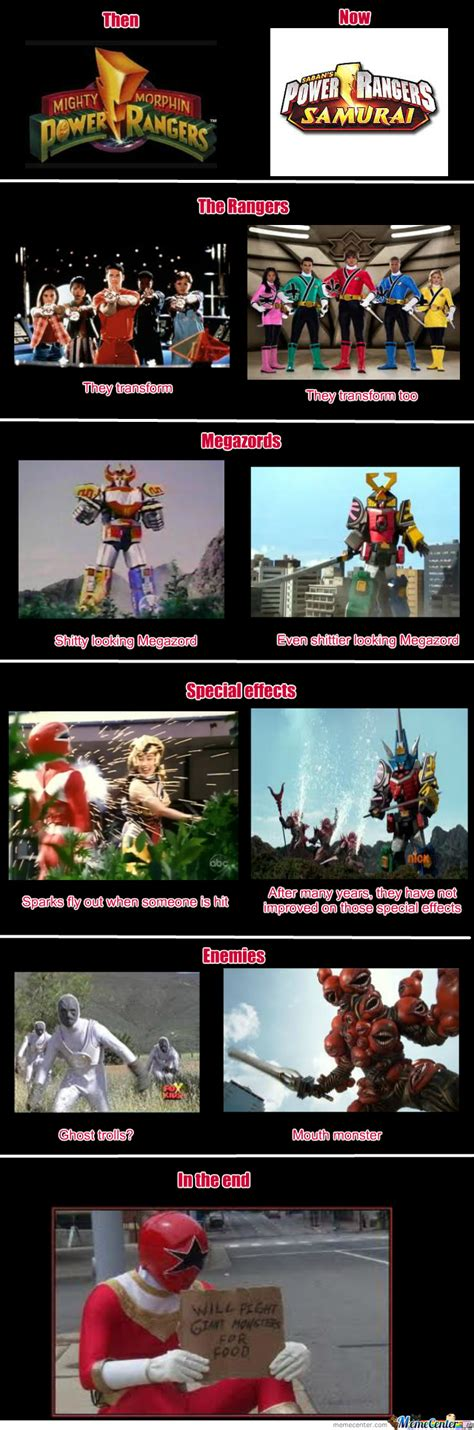 Power Rangers Meme - power rangers by indio meme center