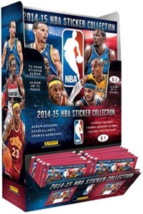 Kartu Basket 2017 Panini Bryant 2014 15 panini nba stickers set info checklist boxes more