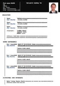 Curriculum Vitae Italiano by Modello Di Curriculum Vitae Da Compilare Gratis In Italiano