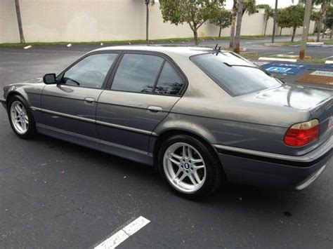 2001 bmw 740i m sport package sell used 2001 bmw 740i m sport package in pompano
