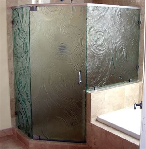 Patterned Glass Shower Doors Shower Doors Westport Glass Products