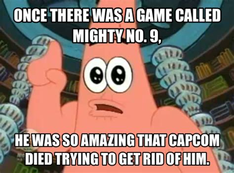 no patrick meme patrick meme 1 mighty no 9 by trc tooniversity on
