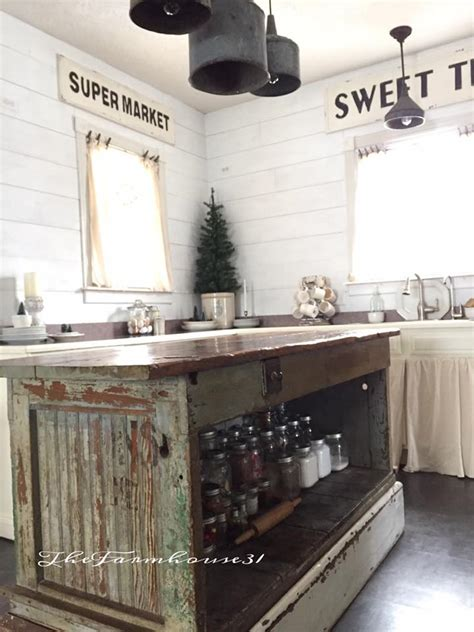 vintage kitchen island ideas vintage farmhouse kitchen islands antique bakery counter