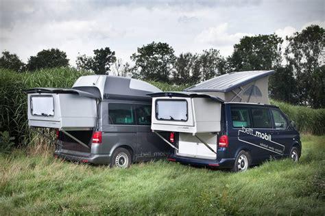 Rv Garage With Living Space Bett Mobil Extendable Volkswagen Multivan Hiconsumption