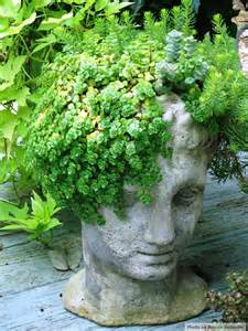 Head Planter Pots For Sale by 194 Best Planters Shaped Like Heads And Other Body Parts