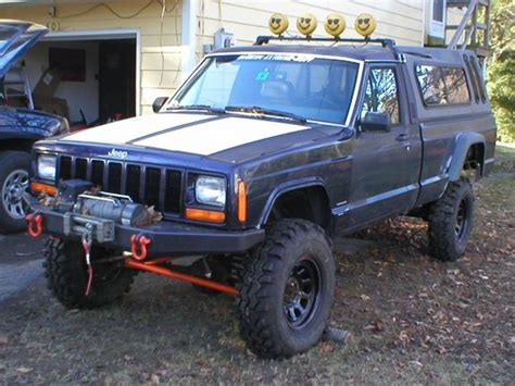 1988 lifted jeep comanche newenglandxj 1988 jeep comanche regular cab specs photos
