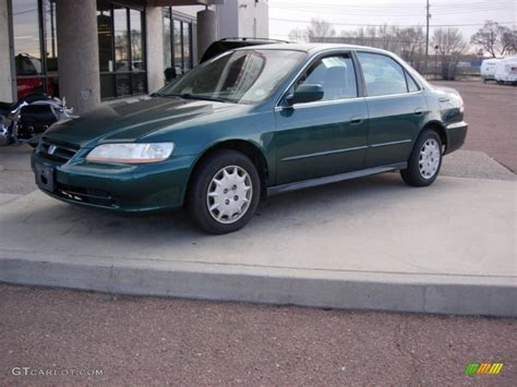 2002 green honda accord noble green pearl 2002 honda accord lx sedan exterior