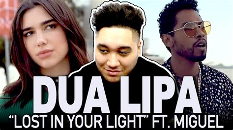 dua lipa lost in your light dua lipa lost in your light feat miguel official video