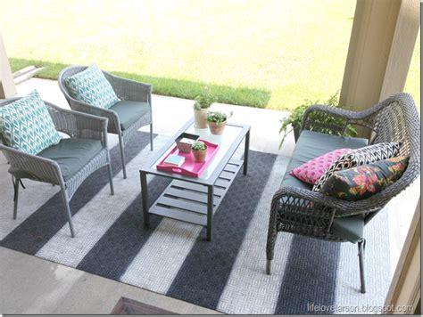 larson diy painted outdoor rug