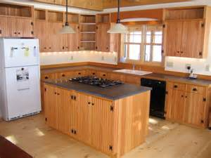douglas fir beadboard cabinets traditional kitchen