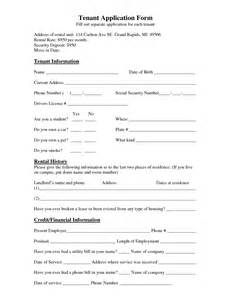 Tenant Information Sheet Template tenant lease template bestsellerbookdb