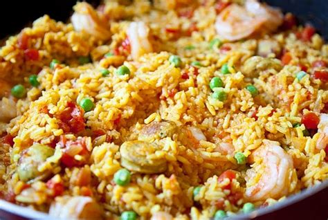 new year seafood recipes easy paella recipe for fall