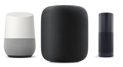 echo vs apple homepod vs home features