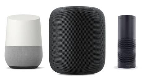amazon echo vs google home vs apple homepod amazon echo vs apple homepod vs google home features