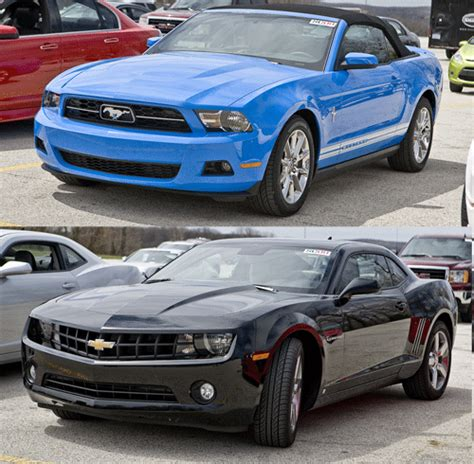 which car is better ford mustang or chevy camaro