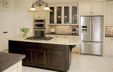 remodel kitchen island ideas design in the woods kitchen remodel before and after