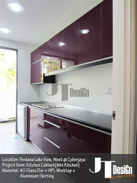 Kabinet Dapur 4g Glass 4g glass door kitchen cabinet kitchen cabinet jt design