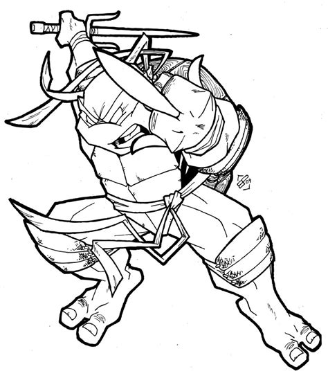 Raphael Ninja Turtle Coloring Pages Printable | free coloring pages of raphael ninja turtle
