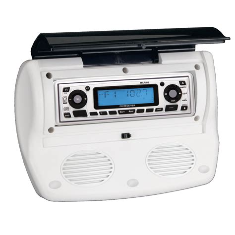 boat radio with speakers poly planar wc 700 marine boat waterproof stereo radio