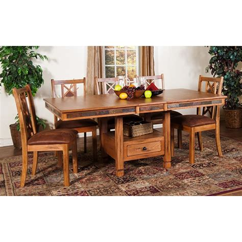 designs sedona dining table designs sedona butterfly dining table w slate